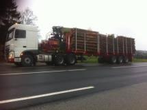 Transport bois - Camion Grumier