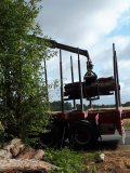 Chargement bois de chauffage 2 mètres